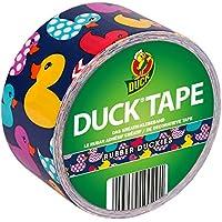 Ducktape 100-29 Ruban Adhésif, 48 mm x 9,1 m, à Bricoler et Embellir, Rubber Duckies, Canard En Plastique