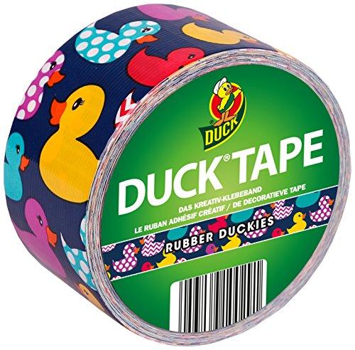 Duck Tape Klebeband mit bunten Enten zum Basteln und Verschönern 48 mm x 9,1 m (Klebeband Ente)