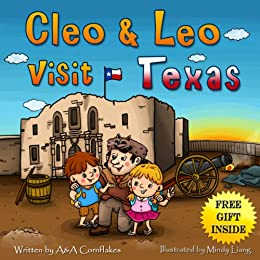 Children Book - Leo & Cleo visit Texas (free gift inside ...