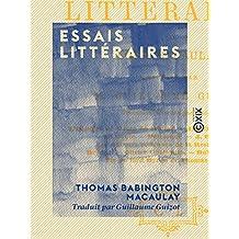 Essais littéraires (French Edition)