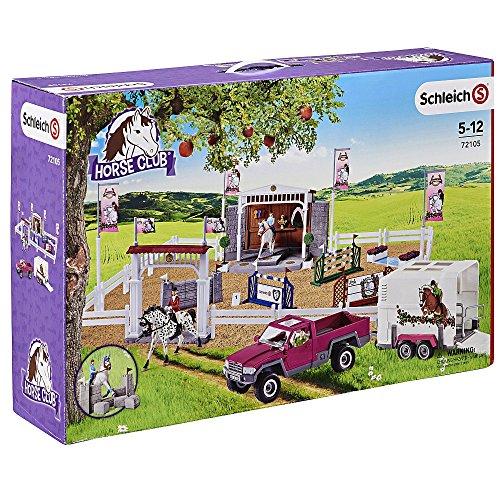 Preisvergleich Produktbild Schleich 72105 Großes Reitturnier mit Pick-up und Pferdeanhänger TO
