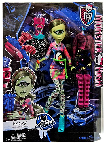 Monster High - I love Fashion - Iris Clops - Tochter des - Fashion Monster I High Love