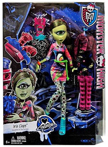 Monster High - I love Fashion - Iris Clops - Tochter des - Monster High Fashion Love I