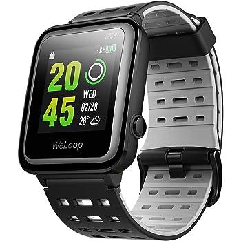 VICTSING Reloj Inteligente GPS con Ritmo Cardíaco, Smartwatch Fitness WeLoop Hey 3S con Cronómetro,