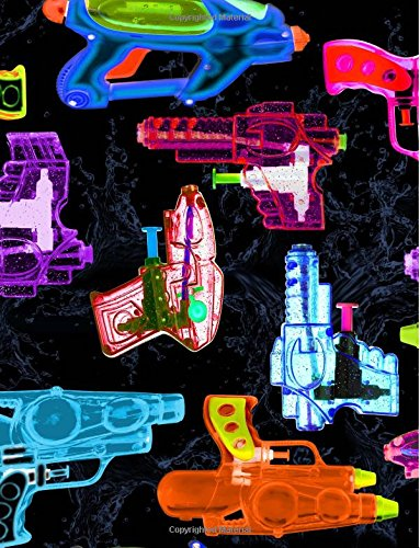 tion Book: Toy Squirt Gun Blank Lined Composition Notebook 75 Sheets / 150 Pages 8.5 x 11 inch ()