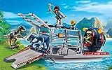 Playmobil 9433 - Propellerboot mit Dinokäfig Spiel