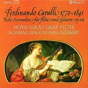 6 Sérénades op.109 pour flûte & guitare