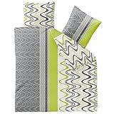 CelinaTex Bettwäsche 3-tlg. 200x200 Bettgarnitur Baumwolle 80x80 Kissenbezug Reißverschluss Enjoy Lilly 5001076