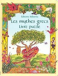 Les mythes grecs : Livre puzzle