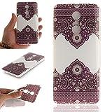 JIENI Hülle für Xiaomi Redmi 5 (5,7 Zoll) Cover Soft Transparent Fliesen Blumen TPU Silikon Schutzhülle Case Bumper Cover Handyhülle für Xiaomi Redmi 5 (5,7 Zoll)