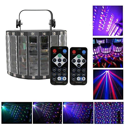 Top-Uking Lichteffekte Disco Lampe Discolicht Partylicht Beleuchtung Partybeleuchtung mit Fernbedienung für Party Bar Geburtstag Weihnachtsgeschenk (30w)