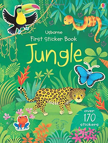 First sticker book : Jungle (First Sticker Books)