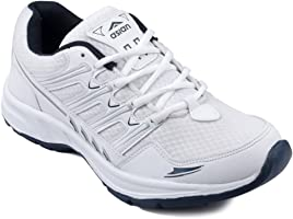 ASIAN Shoes Wonder-11 White Navy Blue Men Mesh Sports Shoes