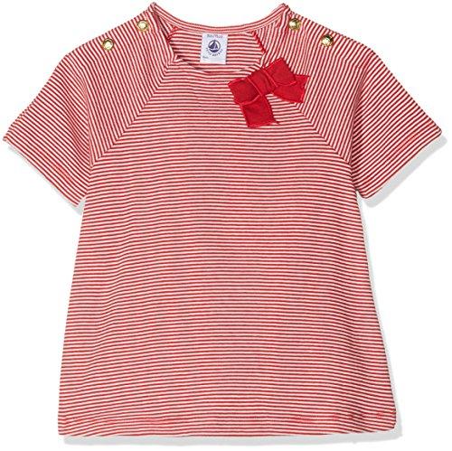 Petit Bateau Baby-Mädchen Tee MC 43341 T-Shirt, Mehrfarbig (Terkuit/Marshmallow 20), 86 (Herstellergröße: 18m/81cm) -
