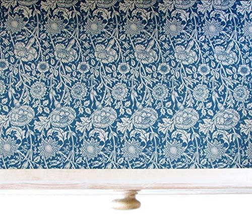 The Master Herbalist William Morris Schubladeneinlagen, duftend Modern Blue (Lavender) - Lavendel Schublade Liner