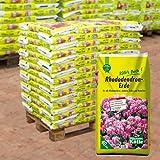 Rhododendron-Erde auf Palette - 60 Säcke à 40 Liter Blumenerde für Moorbeetpflanzen - Gärtnerqualität - Kölle€˜s Beste Erde für Rhododendron, Azalee, Erika, Kamelie