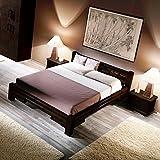 Möbel Bressmer Bambusbett TABANAN Negra 180x200