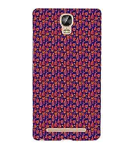 EPICCASE chocolates Mobile Back Case Cover For Gionee Marathon M5 Plus (Designer Case)