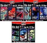 Die Drei ??? (Fragezeichen) - Folgen 64-72 (3 CD Box 22+23+24) im Set - Deutsche Originalware [9 CDs]