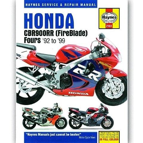 Haynes Handbuch (in Englisch) 2161 für Honda CBR900RR Fireblade 92-99 (H2161)