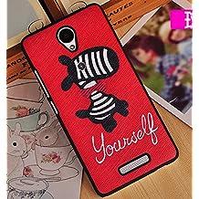 Prevoa ® 丨Xiaomi Redmi Note 2 2 + Funda - Colorful Plastico Funda Cover Case para Xiaomi Redmi Note 2 2 + 5.5 Pulgadas Smartphone - 13