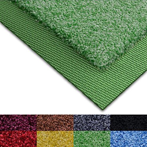 Fußmatte Sky Color | strahlende Farben | Schmutzfangmatte mit Gummirand in passender Farbe | sehr gute Schmutzfangwirkung | Wheat Green (85x150cm)