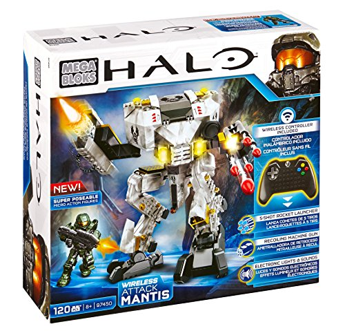 Mattel Mega Bloks CXK87 Halo - UNSC Auto Mantis Attack (Rüstung Chief Master Halo)