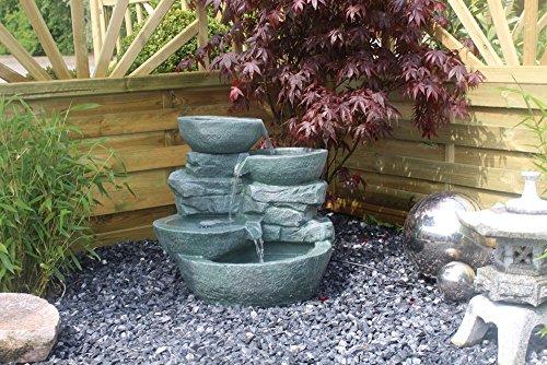 Springbrunnen Cascades mit LED-Beleuchtung Gartenbrunnen Zimmerbrunnen - 8