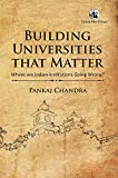 Building Universities that Matter: Where are Indian Institutions Going Wrong?