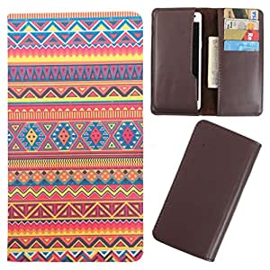 DooDa - For Lava Iris 250 PU Leather Designer Fashionable Fancy Case Cover Pouch With Card & Cash Slots & Smooth Inner Velvet