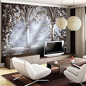 Lhdlily 3d wallpaper mural wall sticker thickening custom for Custom mural wallpaper uk