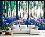 Yosot Benutzerdefinierte Stereoskopischen 3D-Tapete Wandbild Moderne 3D-Wald Landschaft Tapete Wände Für Wohnzimmer-300Cmx210Cm