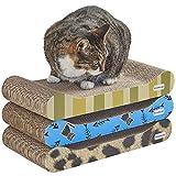 Milo & Misty 3 Piece Patterned Cat Scratching...