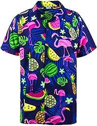 3d09490aa44a62 Funky Hawaiian Shirt | Men | XS-6XL | Short-Sleeve | Front-