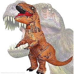 Sihee - Disfraz de dinosaurio T-Rex hinchable para adulto - Ideal para fiestas y cosplay