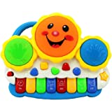 higadget™ Drum Keyboard Musical Toy with Flashing Lights - Animal Sounds and Songs