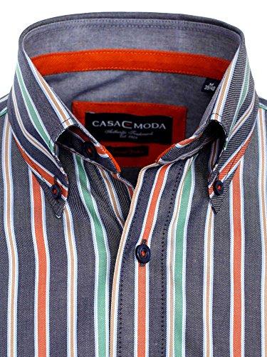 CASAMODA Herren Freizeithemd, gestreift 431793600/450 Multicolor