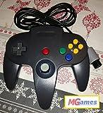 EAXUS N64 kompatibler Controller/ Gamepad schwarz