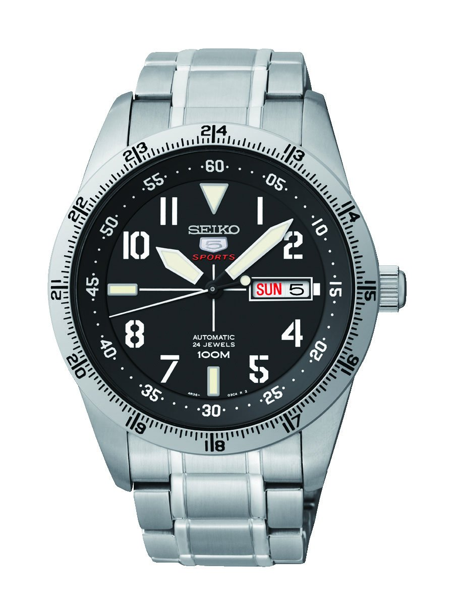 Seiko Men's Analogue Automatic Watch with Stainless Steel Bracelet – SRP513K1