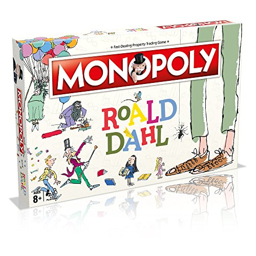 Winning Moves 031615 Roald Dahl Monopoly Chicken Music Box