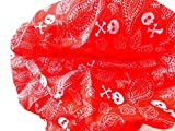 bb-Klostermann Foulard/Étole Multifonctions 34034 - Rouge Tête de Mort, 24x49cm, 24x49cm