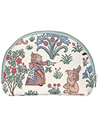 Signare Womens Fashion Canvas Tapestry Large Cosmetic Make-up Bag (Various Designs)