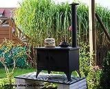 Outdoor Küchenofen Garten-Herd Gartenküche mit Schornstein