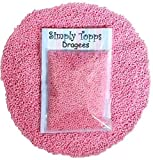 Baby Pink Mini Sugar Balls 30g (approx 1mm diameter) for cake or cupcake decorations