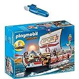 PLAYMOBIL® History 2er Set 5390 7350 Römische Galeere + Unterwassermotor