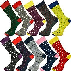 Mysocks unisex tobillo calcetines de punto 10 pares compra a granel 01