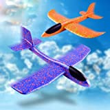 Balloonistics Wp Original Flying Glider Foam Planes | Throwing Whirly Glider Planes for Kids, Party Favors (Pack of 1)