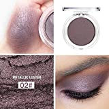 Ichy Ombre À Paupières Cosmétique De Couleur Unie Charmante Fée Colorée Eyeshdow Glitter Highlight Maquillage Accessoires
