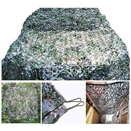 Armee Tarnnetz Tarnnetz Oxford Für Woodland Camping Militär Jagd Schießen Blind Watch Vogelhaut Sonnenschirm Party Halloween Weihnachtsschmuck, 2x3m 3x4m 8m (Size : 6 * 8M(19.7 * 26.2ft))