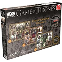 Jumbo Games Game of Thrones Jigsaw Puzzles (3 x 500-Piece)